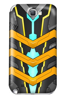 Mecha JD000 Glossy Hard Case for Samsung Galaxy Note 2