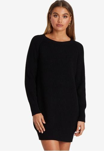 Tussah black Livia Jumper Dress 933E1AA92D7659GS_1