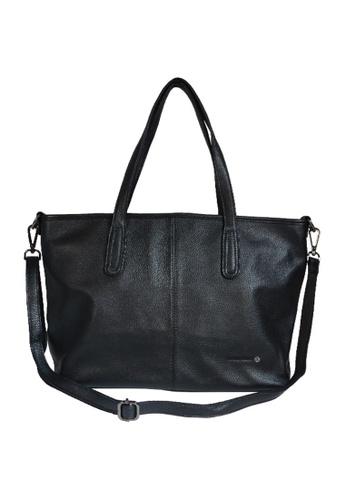 EXTREME black Extreme Genuine Leather Tote Bag 3BDEDAC6B220C8GS_1