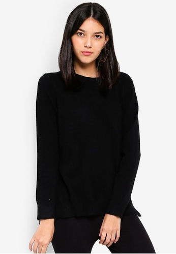 OVS black Viscose Blend Pullover With Laces 9D20CAA58A612BGS_1