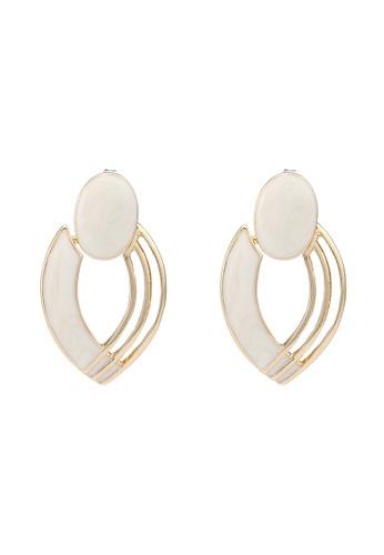niko and ... white Abstract Earrings 04309AC5E3A350GS_1