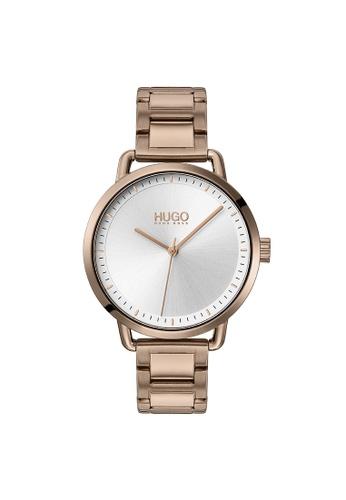 Hugo Boss silver HUGO Mellow Silver White Women's Watch (1540056) 0C800ACFA8CE41GS_1