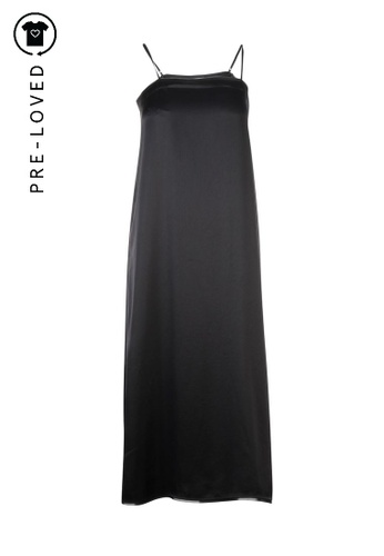 Dkny black Pre-Loved dkny Tube Black Silk Dress 29997AA0D4A3B0GS_1