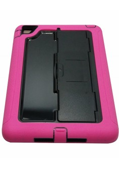 OEM Slim Heavy Duty Shockproof Case with Stand for iPad Air 1 (Pink)