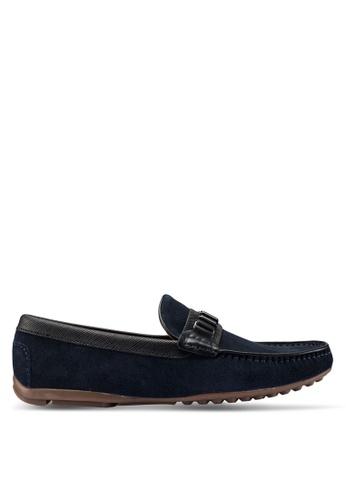 Carlton London blue Slip On Loafers E184FSHBAAFFD2GS_1