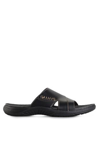 Homyped black Sigra 03 Men Sandals HO842SH35GZGID_1