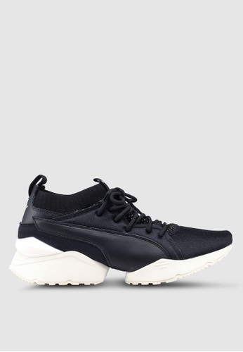 8ad3c7eb9a32 Puma Select black Select Muse Maia Knit Premium Women s Shoes  60EC2SH8BD4352GS 1