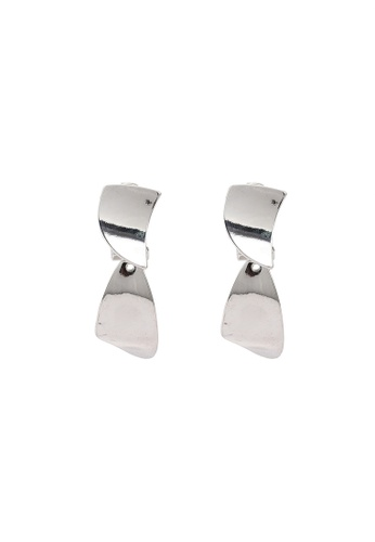 niko and ... silver Statement Clip Earrings BC8A1ACDB7DA9BGS_1