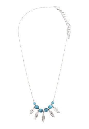 Judiesprit 品牌th 葉子串珠項鍊, 飾品配件, 女裝飾品