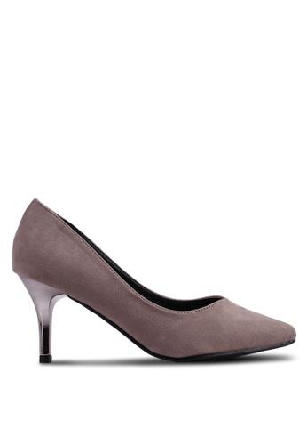Carlton London 褐色 麂皮高跟鞋 63574SH61FAFA4GS_1