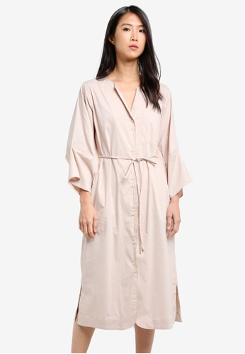 WEEKEND SUNDRIES beige Gentle Slopes Dress WE453AA0FXU7SG_1