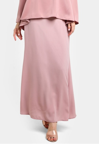 BYN pink Duyong Skirt BY059AA46VKBMY_1