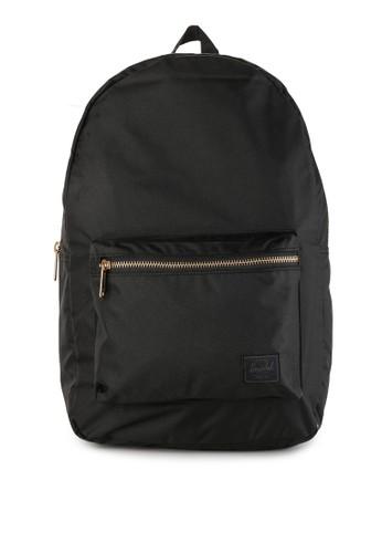 Herschel black Settlement Light Backpack A0F9EAC899586AGS 1 4e04811503e5a