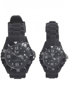 New Ice Couple Watch With Calendar