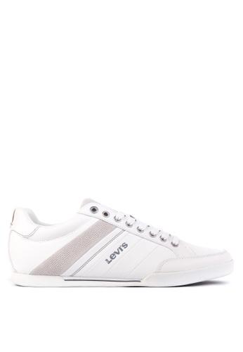 Levi's white Turlock Sneakers LE892SH26PSVPH_1