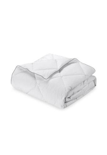 HOOGA white Hooga Microfibre Quilt Faye F888BHLBB69DBBGS_1