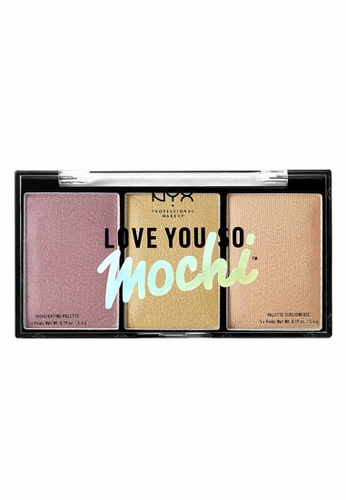 NYX Professional Makeup multi NYX Professional Makeup Love You So Mochi Highlighting Palette Lit Life C2EF3BEDD56708GS_1
