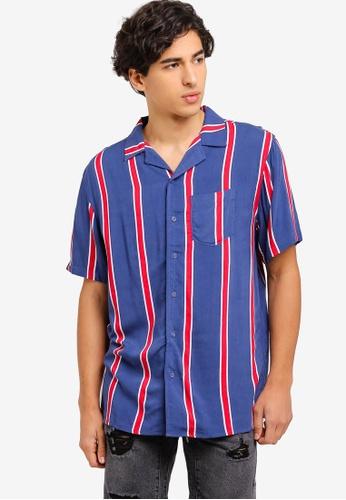 Cotton On 紅色 條紋襯衫 45F68AAC0C20C9GS_1