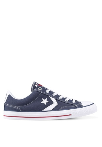 Converse navy Star Player Core Ox Sneakers 025F4SH8AA9920GS_1