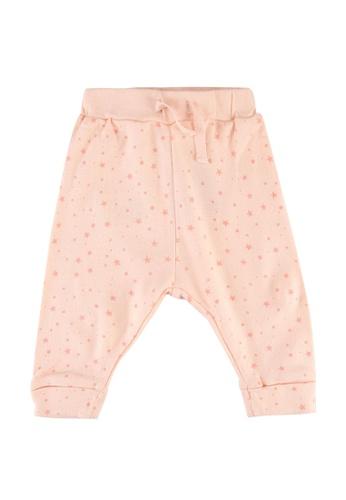 FOX Kids & Baby pink New Born All Over Print Leggings 86129KAA36F4C6GS_1