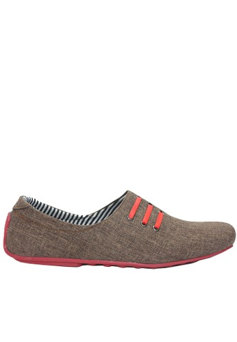 Dr. Kevin red and brown Dr. Kevin Men Casual Shoes 13324 -Brown/Red 4D24CSH3C5AA83GS_1