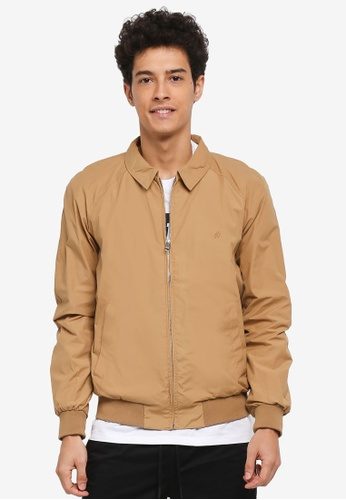 Jack & Jones brown Herrington Pacific Jacket AE89FAAB0A9FBDGS_1