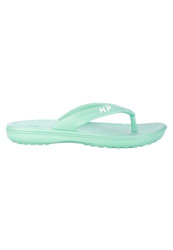 Hush Puppies Sandal Flip Flops Wanita Temma Green