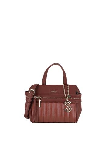 SEMBONIA red Top-Handle Satchel Bag B22D9ACC516CEEGS_1