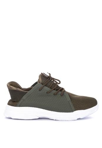 H2Ocean green Clovis Lace up Sneakers 3EEC9SH7E37993GS_1
