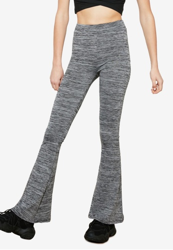 Trendyol grey Flare Sports Trousers FEB2FAA8E91A65GS_1