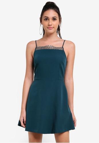 Something Borrowed green Hardware Trim Dress 1567EAAFA16C60GS_1