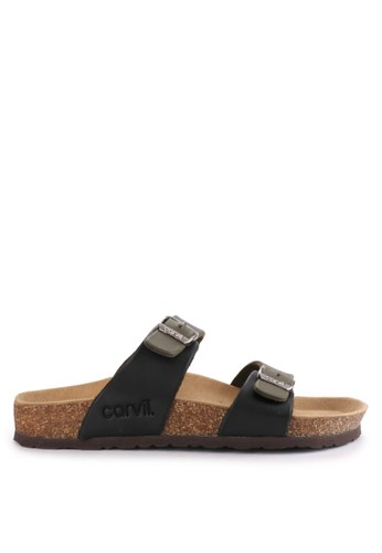 CARVIL green and multi Sandal Casual Men Clifton-02M B3083SH1A9DE92GS_1