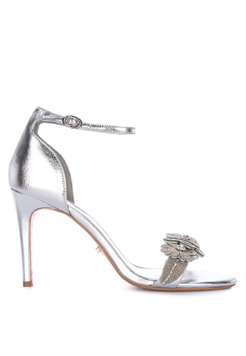 ee5cfdf12f Dune London silver Majorelle Di Heeled Sandals 927FDSH66F0744GS_1