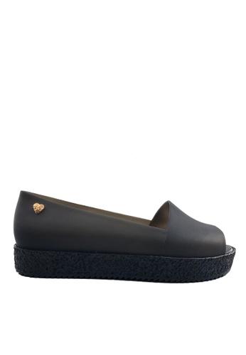 Twenty Eight Shoes 黑色 魚嘴厚底果凍膠雨涼鞋 VR236 1C76ESH0007F5FGS_1