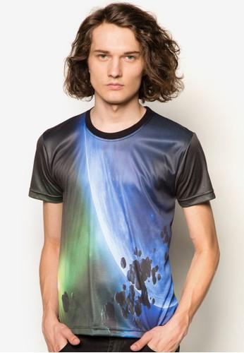 銀河星球印花Tzalora 評價EE, 服飾, 印圖T恤