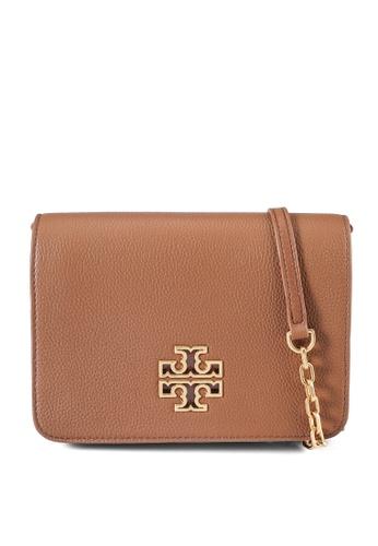 TORY BURCH gold Britten Combo Crossbody Bag (NT) B7018AC6F238EEGS_1