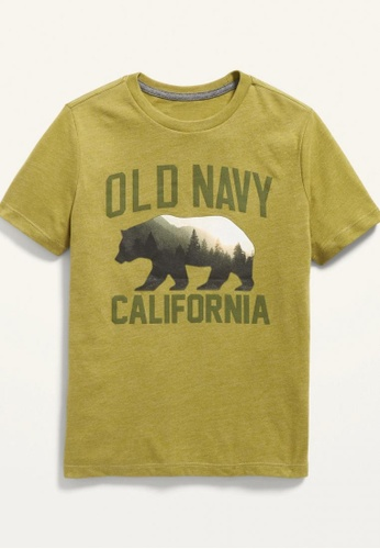 Old Navy green Boys Short-Sleeve Logo-Graphic Tee C7624KA5F88D55GS_1