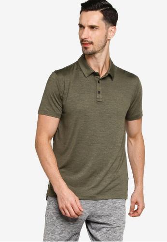 GAP green V-Performance Polo Shirt 330F1AAF4064EEGS_1