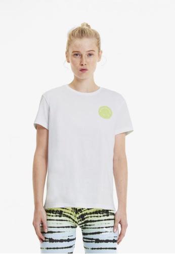 puma white Women's Streetwear Graphic Tee EB484AA22CB60BGS_1