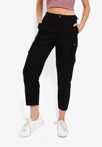 Cotton On black Nika Utility Pants 51245AA0BB7C63GS_1