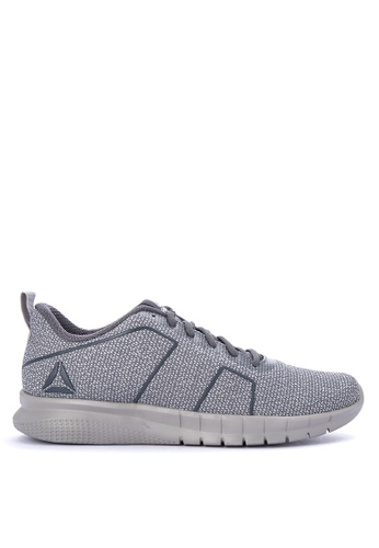 Reebok grey Reebok Instalite Pro Running Shoes 4A4CESHA3DF515GS_1