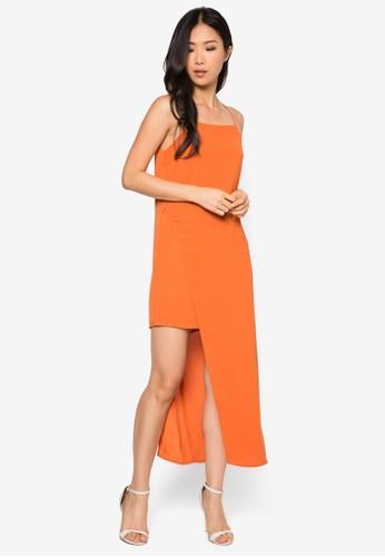 不對esprit 寢具稱裹飾連身長裙, 服飾, 洋裝