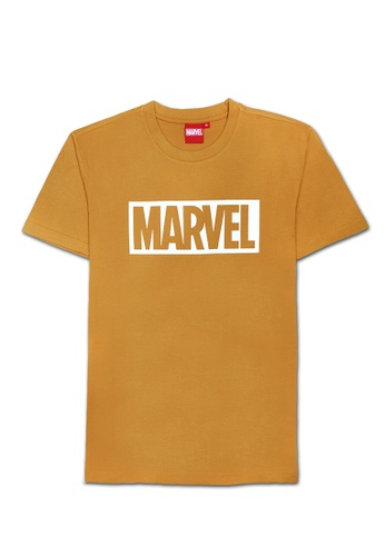 MARVEL yellow Marvel Genuine Men Avengers MARVEL Block Short Sleeve T Shirt VIM20643-YELLOW D186CAAE8F187DGS_1