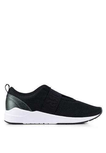 ASICSTIGER black Gel-Lyte Komachi Strap Shoes AS610SH0SVUQMY_1