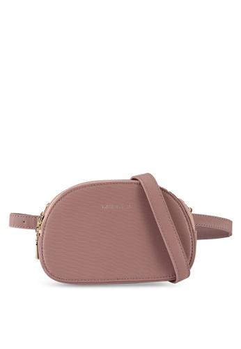 Milliot & Co. purple Summer Sling Bag C1285ACA822FEFGS_1