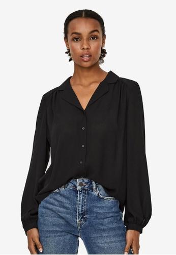Vero Moda black Poel Shirt FFE72AAB85E372GS_1