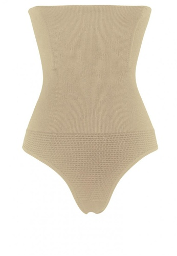 Golden Ticket Super Savers beige Steel Boned High Waisted Body Shaper with Tummy Control (Panty Type) 9AA7AUS5F17A3CGS_1