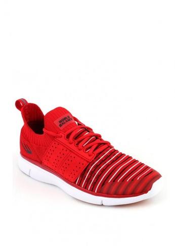 World Balance red Weave Drifter Men's Sneakers 2F657SHE22E684GS_1