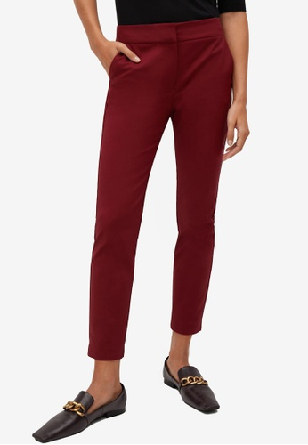 Mango red Suit Slim-Fit Trousers A9407AA5A48A37GS_1