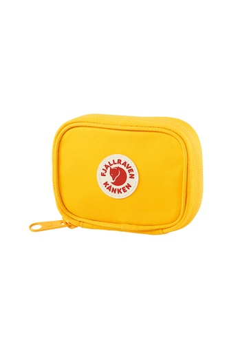 Fjallraven yellow Fjällräven Kånken Card Wallet Warm Yellow E40F5ACD936DE8GS_1